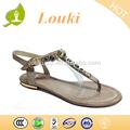 aus echtem leder sandalen