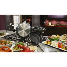 nonstick frying pan removable handles cooking pots
