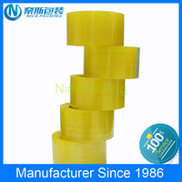 custom hotmelt pressure adhesive based bopp film bopp tape manufacturer