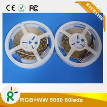 300pcs 24V 10mm width led strip rgbw smd5050 CE RoHS