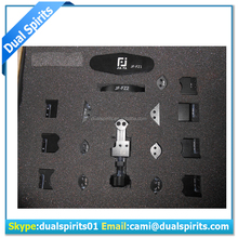 mobile tool box JF-866 17 in 1 Frame iconner Repair Tool for iPhone 5 5G 5S for iPad 2 3 4 Bend and Straight