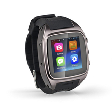 smart watch android dual sim with 5.0MP camera, GPS, 3G and WIFI