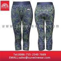 custom made 90% polyester 10% spandex yoga pants wholesale, tight yoga pants fabric