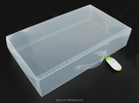 Dongguan pp product, Factory price plastic Shoe Box small clear for Sale