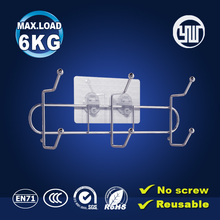 Special design metal clothes hook bathroom hanging shower racks zhongshan price cif