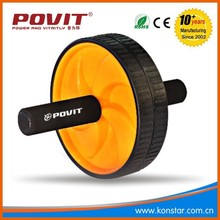 AB abdominal waist workout Roller Fitness Wheel ,AB roller Gym equipment