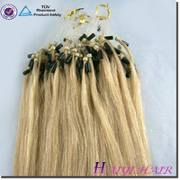 2015 Hot Sale Factory Wholesale Price red micro beads hair extension