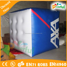 customized inflatable cube balloon with your logo