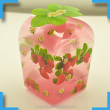 China supplier disposable PP fruit box for cherry for wholesale