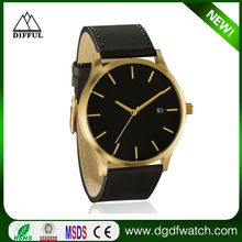 2015 Wholesale Fashion Watch, High Quanlity Leather Style Luxury Fashion Watch Luxury Men Big Dial Mvmt Wtach In stock