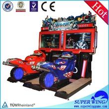 Indoor entertainment drag racing racing