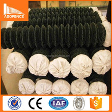 Anping A.S.O direct supplier pvc coated chain link fence price/ discount chain link fence wholesale/ playground chain link fence