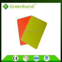 Greenbond high quality thick aluminium bond panel of honey comb hot from china