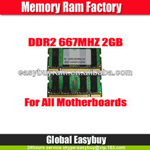 Used computers for export ddr2 2gb ram external ram for laptops