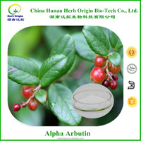 skin whitening cream bearberry Extract alpha arbutin powder