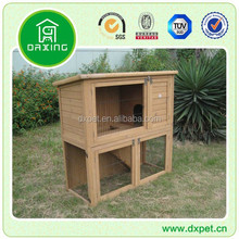 Trixie 2-Story Rabbit Hutch with Wheels & Outdoor Run(18 years factory experience)