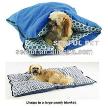 Lovely sleeping bag pet bed pet cushion dog bed