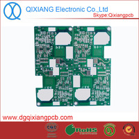 Electronic tv antenna amplifier circuit pcb with fr4 material,1.0mm thickness 2 layers Hasl quality tv antenna amplifier circuit