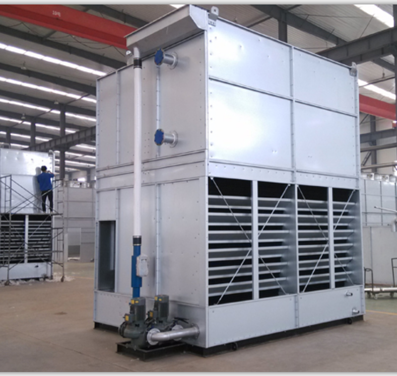 Evaporative Condensing Unit : Hac evaporative condenser for refrigeration condensing