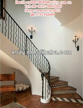 Hot Selling Reasonable Price Wrought Iron Crafts Metal Spiral Stairs