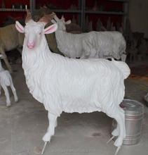 New design life size resin sheep