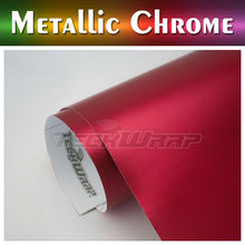 TeckWrap Hot Sell Matte Metallic Chrome Vinyl, similar 3m car wrap vinyl