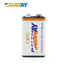 Li-MnO2 Lithium Primary 9V AA CR2 1200mAh Non-rechargeable Battery