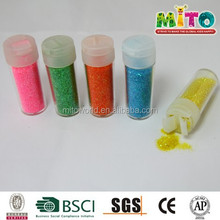 Metal color non-toxic party supply glitters powder