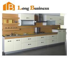 LB-JL1238 kitchen cabinets White Bespoke Modular Modern Kitchen cabinet