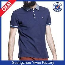 New fashion cotton polyester polo shirt design wholesale