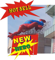 2015 NEW INFLATABLE CARTOON MODEL [10M BIG spider-man]