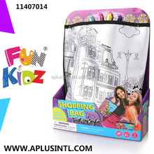 Kids Craft DIY Paint Your Own Shopping Bag Kits