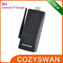 M4 RK3288 Quad-core 2+8G Dual Channel 2.4G/5.0G WIFI Android TV Stick