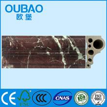 Imitation marble faux stone panels extrusion production line wonderful hotel decoration
