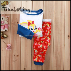 kids kurtis for girls fox baby girls pajamas TPJS-303
