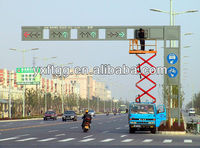 solar powered led traffic sign