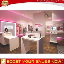 Trade Assurance Factory Modern Decoration Design Cell Phone Store Fixtures Displays Furniture Manufacturer