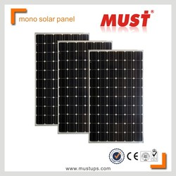 Mono Solar Panels/factory made in China monocrystalline 300w solar panel MONO