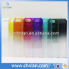 Various colors transparent pc raindrop case for iphone 5