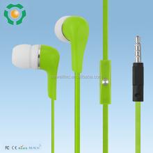Popular world best selling earphones smart phone in ear headphone stereo audio
