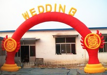 New Arrival Fire of Love Inflatable Arch for Wedding, Wedding Arch