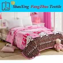 king size plush coral fleece blanket throw blanket fanel blanket children design