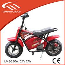 250W kids electric dirt bike chinese wholesale