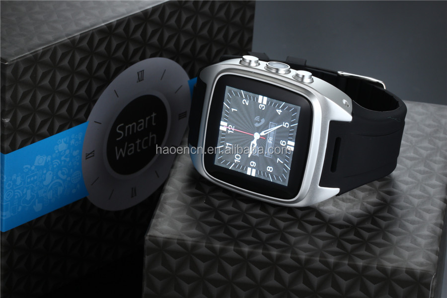 Android Smart Watch 2015 with GPS Watch Phone Android 3G Bluetooth Smartwatch Leather Strap Metal Steel Watch