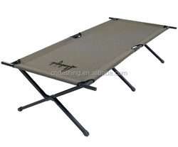 lightweight outdoor furniture folding single army portable camping bed for kids