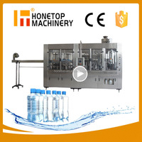 High Accuracy 20 liter bottled water filling machine
