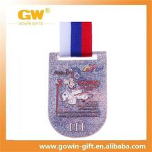 Bronze Embossed Custom Metal Sports Medals for sale