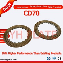 70cc wholesale motorcycle parts,ODM chinese motorcycle parts,2.2mm cd70 clutch plate