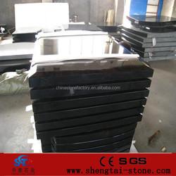 Made in china Shanxi black granite monuments, blank granite tombstone