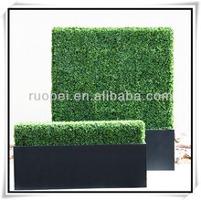 2015 Hot sell plastic ivy fence artificial green wall for Decor